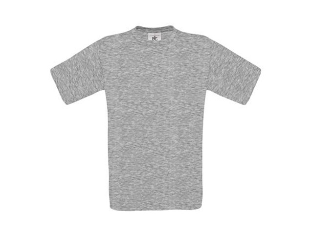 Afbeelding van B & C Exact 190 T Shirt Grijs L Shirts