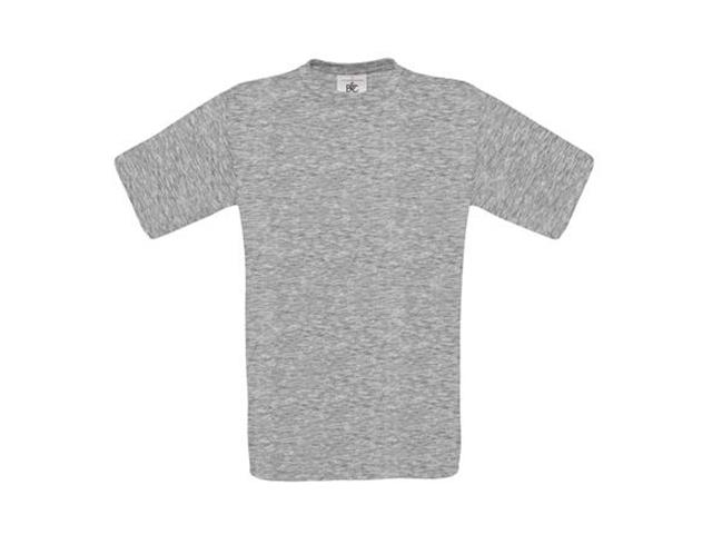 Afbeelding van B & C Exact 190 T Shirt Grijs 3Xl Shirts