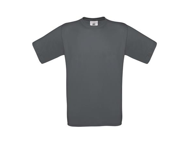 Afbeelding van B & C Exact 190 T Shirt Donkergrijs S Shirts