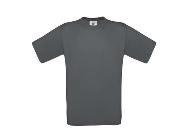 Afbeelding van B & C Exact 190 T Shirt Donkergrijs L Shirts