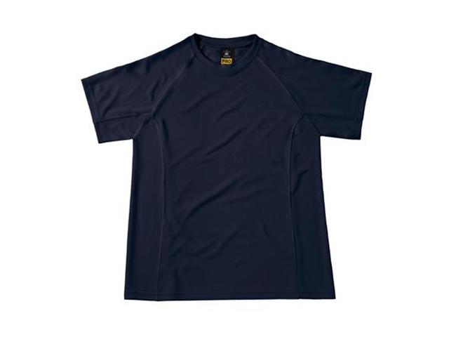 Afbeelding van B & C Cool Power Pro Tee T Shirt Marineblauw S Shirts