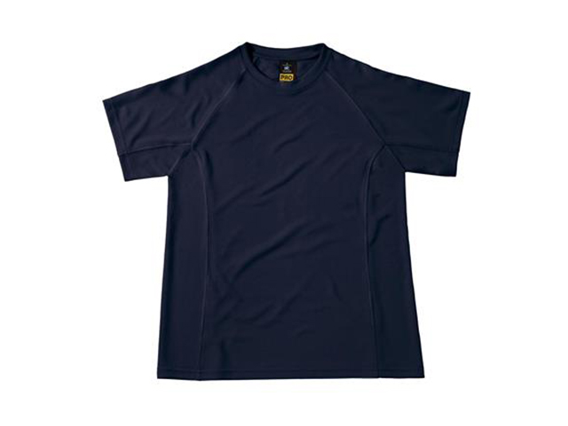 Afbeelding van B & C Cool Power Pro Tee T Shirt Marineblauw M Shirts