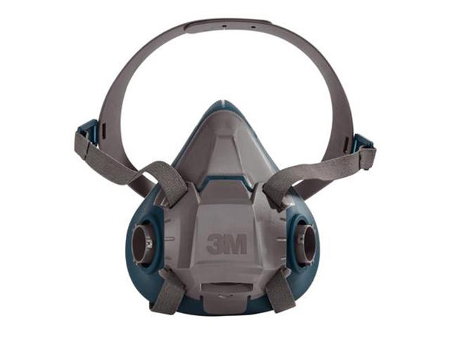 3M 6501 Standaard Halfgelaatsmasker Grijs/blauw S
