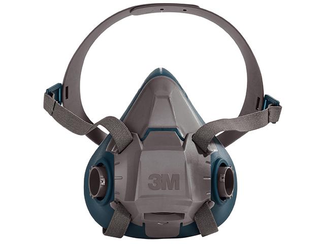 3M 6503 Standaard Halfgelaatsmasker Grijs/blauw L