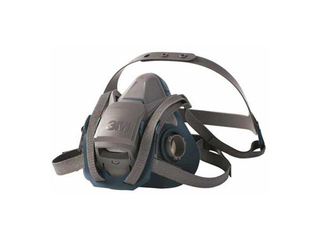 3M 6501QL Halfgelaatsmasker Grijs/blauw S