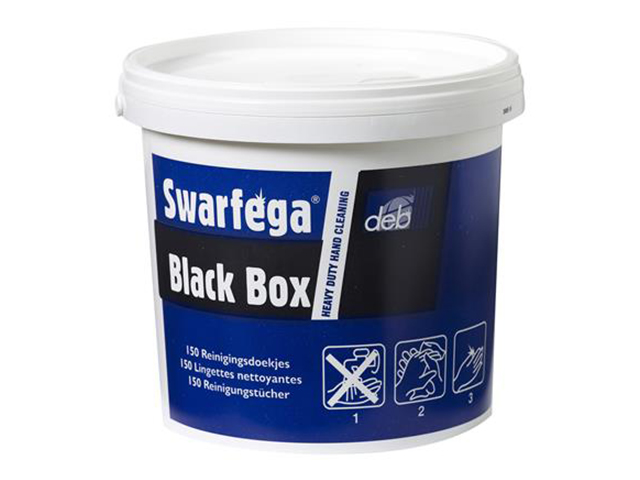 Swarfega Black Box Reinigingsdoekjes Wit 1