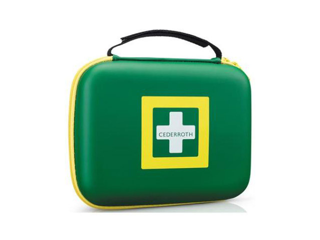 Afbeelding van Cederroth 390101 First Aid Kit Medium Groen M Verbanddozen