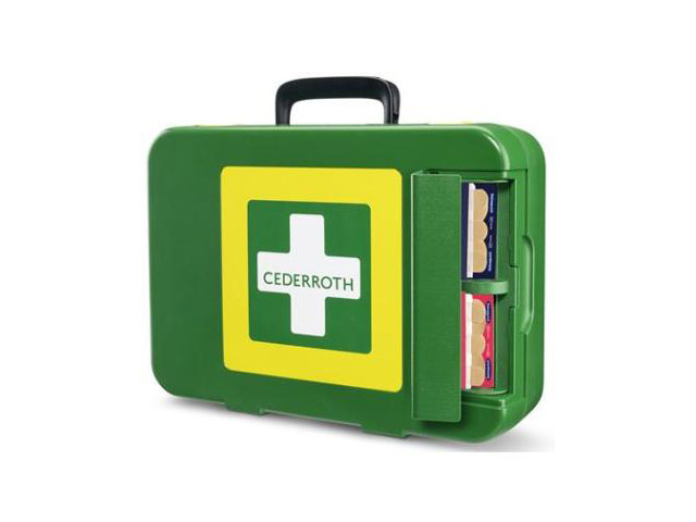Afbeelding van Cederroth 390103 First Aid Kit X Large Groen Xl Verbanddozen